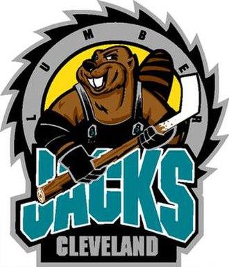 Cleveland Lumberjacks - Image: Cleveland lumberjacks 93 01