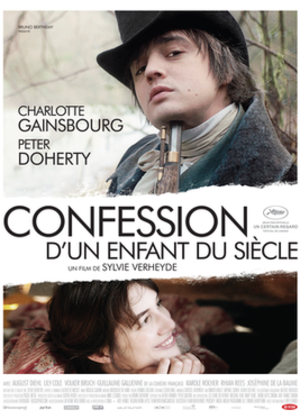 Confession of a Child of the Century - French theatrical poster