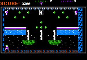 Dangerous Dave - The Apple II version of the original Dangerous Dave.