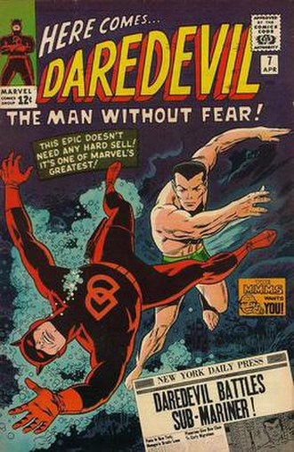 Wally Wood - Image: Daredevil cover number 7