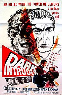 <i>Dark Intruder</i> 1965 television film directed by Harvey Hart