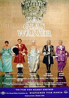 <i>A Glass of Water</i> (1960 film) 1960 film