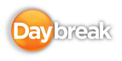 Daybreak titlecard from September 2012.