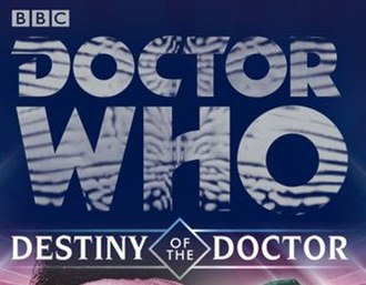 Doctor Who: Destiny of the Doctor - The logo of the series, taken from the cover art of the first release, Hunters of Earth.