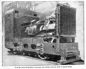 Dick, Kerr & Co. - Image: Dick Kerr & Co Petrol Electric Locomotive