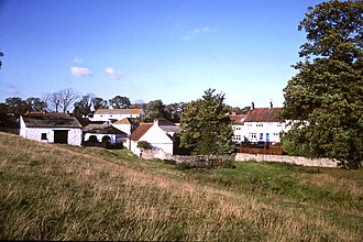 Denton, County Durham - Image: Dl 23tx denton village 1990