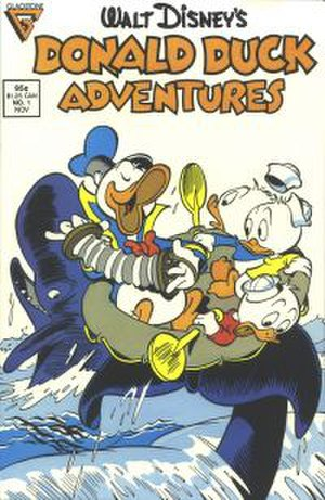 Donald Duck Adventures - Image: Donald duck adventures no 1 1987