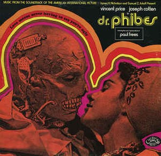 The Abominable Dr. Phibes - Dr. Phibes 1971 soundtrack LP