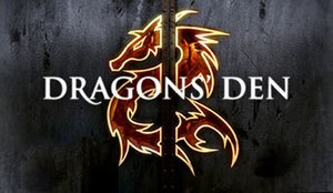 Dragons' Den (Irish TV series) - Image: Dragons Den RTE logo