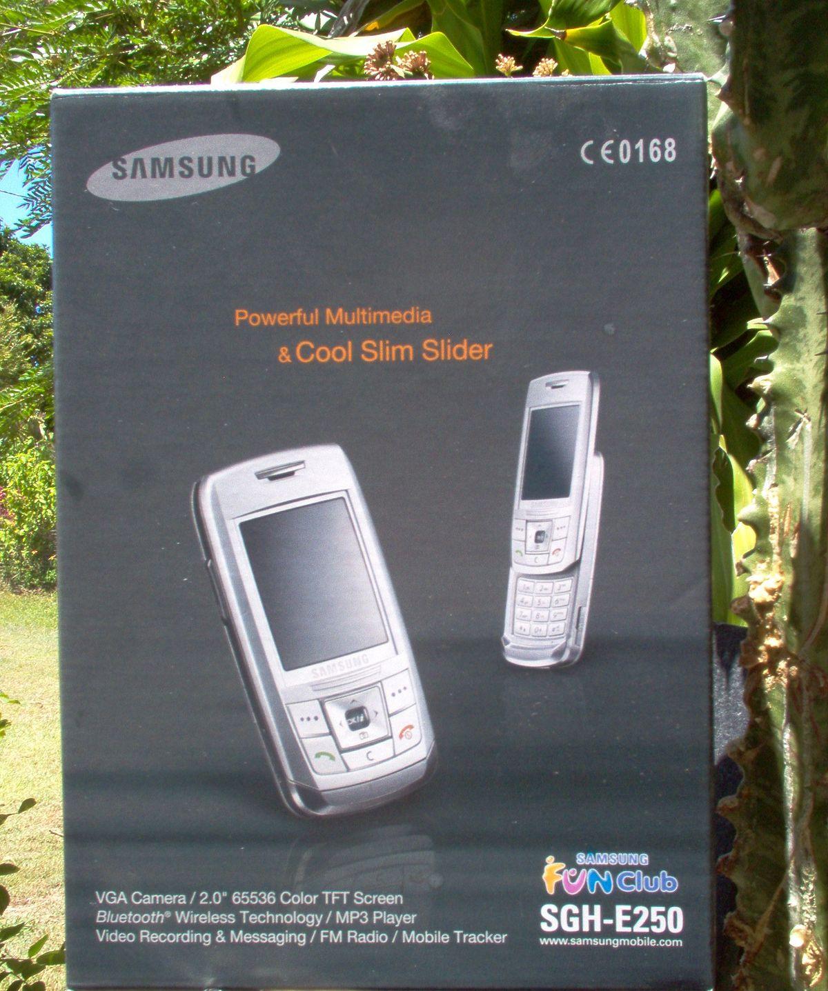 Samsung E250 Wikipedia