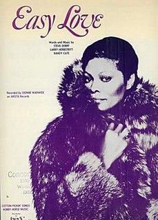 Easy Love (Dionne Warwick song) 1980 single by Dionne Warwick