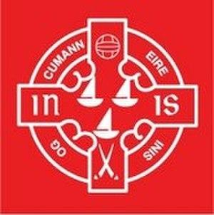 Éire Óg, Inis GAA - Image: Eire Og, Inis GAA Crest