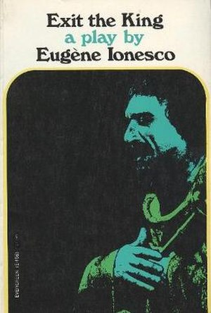 Exit the King - First English edition cover  (publ. Grove Press)