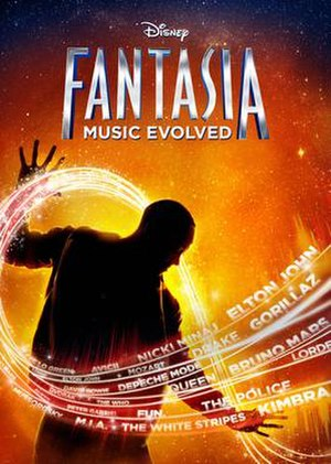 Fantasia: Music Evolved - Image: Fantasia Music Evolved artwork