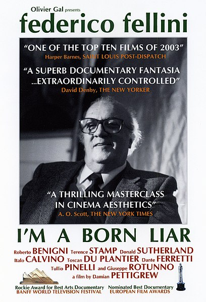 Fellini: I'm a Born Liar (2002) movie poster