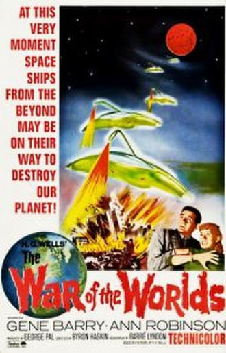 The War of the Worlds (1953 film) - Theatrical release poster