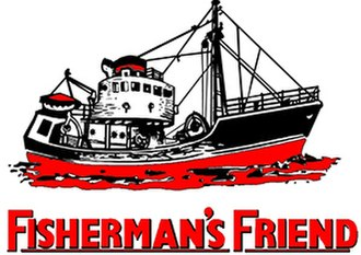 Fisherman's Friend - The image of a Middle-water side trawler that is found on all Fisherman's Friend products.