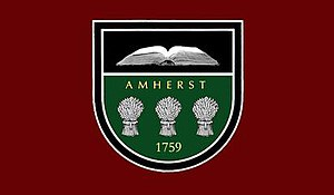 Amherst, Massachusetts - Image: Flag Of Amherst MA