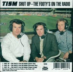 Shut Up – The Footy's on the Radio - Image: Footy radio