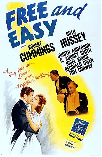 Free and Easy (1941 film) - Film poster