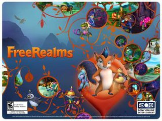 <i>Free Realms</i> video game