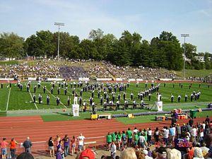 Western Illinois University Marching Leathernecks - Image: Full Form HC2