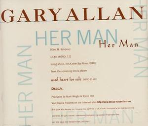 Her Man - Image: Gary Allan Her Man