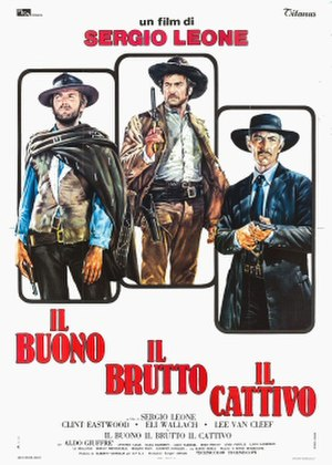 The Good, the Bad and the Ugly - US theatrical release poster by Fred Otnes