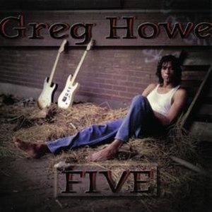 Five (Greg Howe album) - Image: Greg Howe 1996 Five