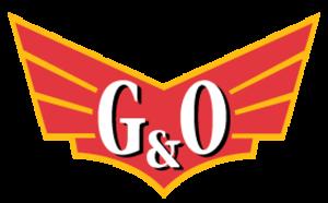 Yadkin Valley Railroad - Image: Gulf Ohiorailroadlogo