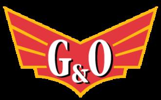 Gulf and Ohio Railways - Image: Gulf Ohiorailroadlogo
