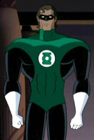 Green Lantern in other media - Hal Jordan in Justice League Unlimited.
