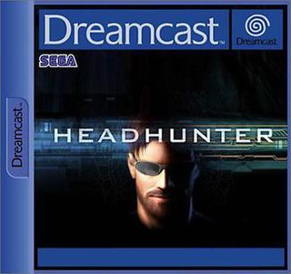 <i>Headhunter</i> (video game) 2001 video game developed by Amuze