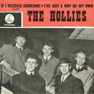 If I Needed Someone - Image: Hollies if i needed someone