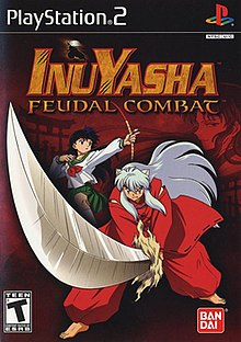 jogo inuyasha feudal combat para ps2
