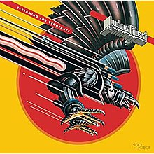 Image result for judas priest screaming for vengeance album cover