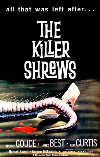 The Killer Shrews - Theatrical release poster