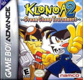 Klonoa 2: Dream Champ Tournament - North American box art