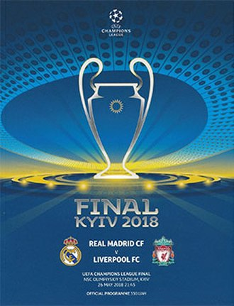 2018 UEFA Champions League Final - Match programme cover