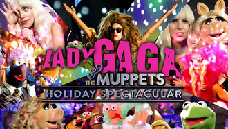 Lady Gaga and the Muppets Holiday Spectacular - Title card