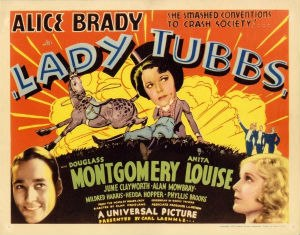 Lady Tubbs - Theatrical release poster