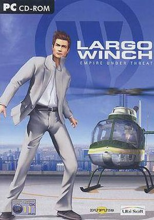 Largo Winch - Image: Largo Winch Empire Under Threat(PC video game) boxart