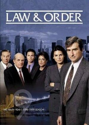 Law & Order (season 9) - Season 9 U.S. DVD cover