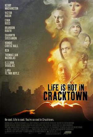 Life Is Hot in Cracktown - Promotional film poster