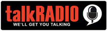 Logo for the upcoming talk radio station, talkRADIO.png