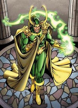 Loki (comics) - Cover art of Thor Vol 2 No. 64 (July 2003) Art by Ben Lai