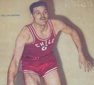 Luis Salvadores Salvi - Luis Salvadores in 1959