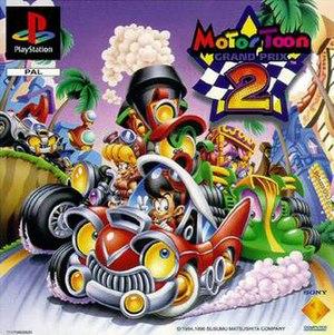 Motor Toon Grand Prix 2 - Image: MTGP2 front