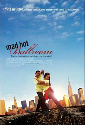 Mad Hot Ballroom - Theatrical release poster