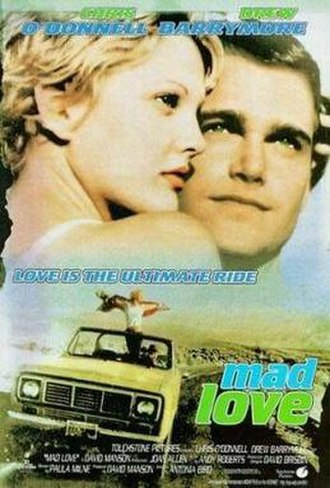 Mad Love (1995 film) - Promotional movie poster for the film